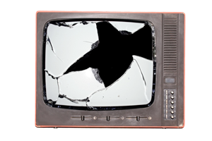 خرید تلویزیون شکسته