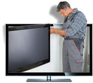 سرویس تلویزیون در محل