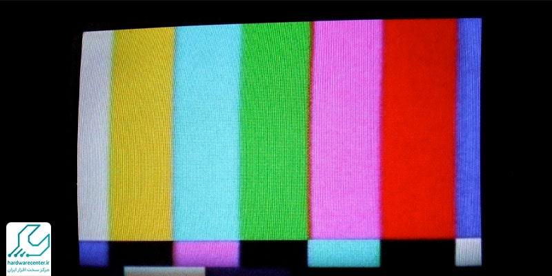 مشکلات رنگ تلویزیون