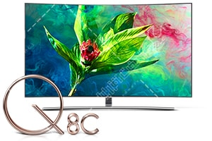 تلویزیون QLED سامسونگ مقاوم در برابر پیکسل سوختگی