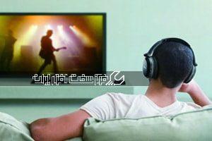 وصل کردن هدفون بی سیم به تلویزیون