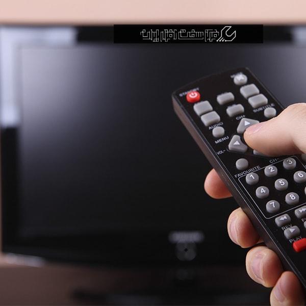 چرا تلویزیون روشن نمی شود؟