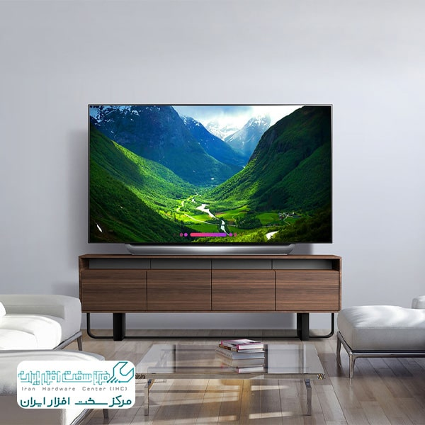 تلویزیون ال جی OLED65C8؛ طراحی شگفتانگیز