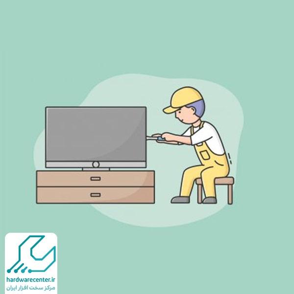 تعمیرات تلویزیون ال جی