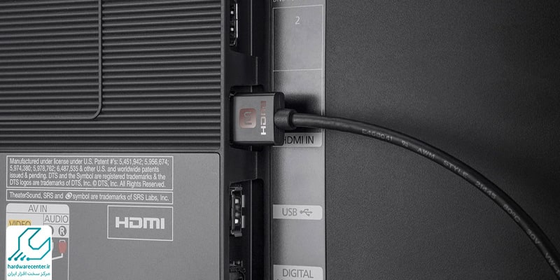 کار نکردن پورت HDMI تلویزیون