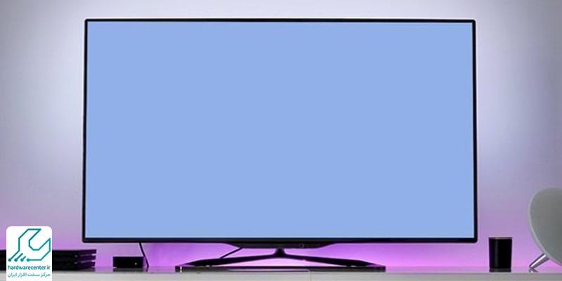آبی شدن صفحه تلویزیون ال جی