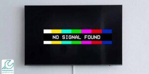 پیام no signal
